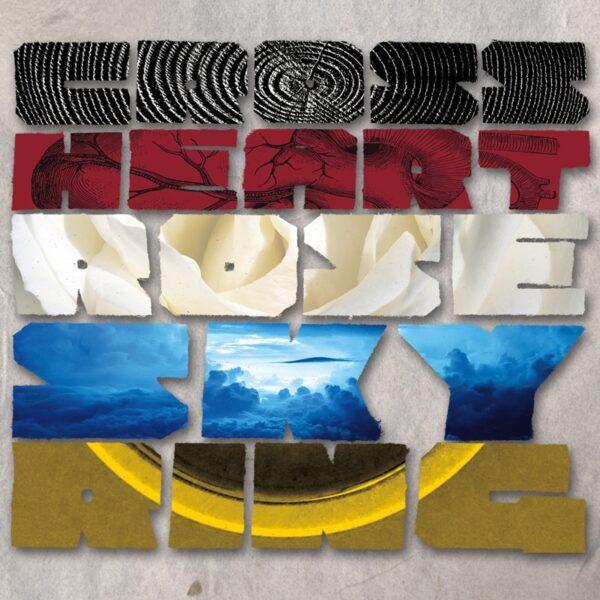 Cross Heart Rose Sky Ring - CD